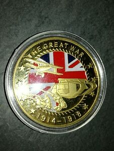 Moneta medaglia commemorativa World War 1914-18 - Italia - Moneta medaglia commemorativa World War 1914-18 - Italia