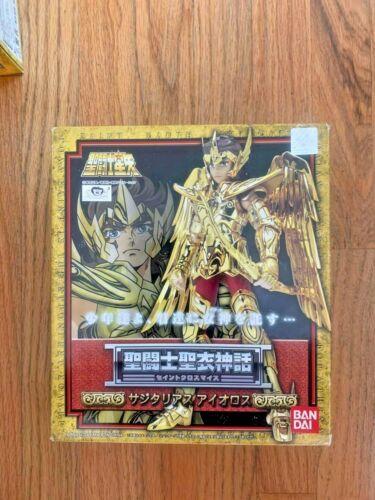 Bandai GOLD Saint SACITTARIUS AIOLOS CLOTH MYTH NEW SEALED HOLIDAY USA