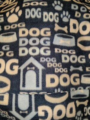 Dog houses   dog puppy crate  personalized  fleece blanket 36x30