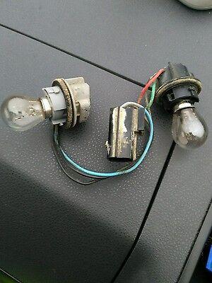 Land Rover Freelander rear bumper lamp light bulb holders connectors wiring loom