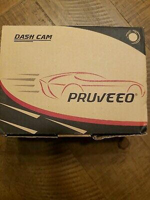 Pruveeo C2 Dash Cam Infrared Night Vision Dual 1080P Uber Lyft Truck Taxi Cars