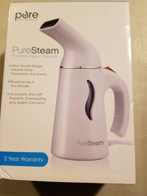 PureSteam Portable Travel Fabric Steamer: Pure Enrichment