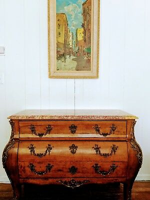 "Antique Dresser LOUIS XIV.""LA COMMODE D'USSAC"""
