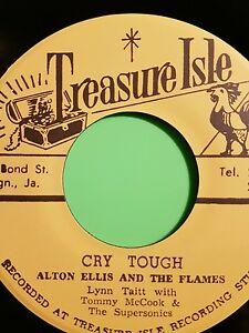 Treasure isle CRY TOUGH  / MR SOLO Alton Ellis