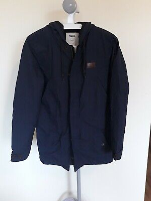 Vans Off the Wall blue lightweight jacket coat S Small
