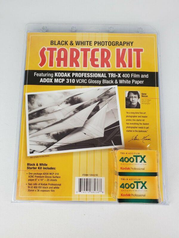Kodak Black White Photography Starter Kit ADOX MCP 310 VCRC Tri-X 400 Film Nocon