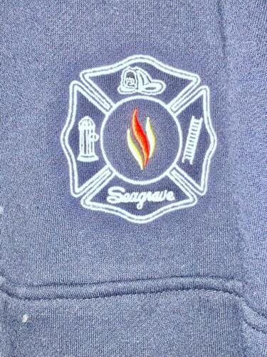 SEAGRAVE FIRE APPARATUS 1/4 ZIP JOB SWEATER