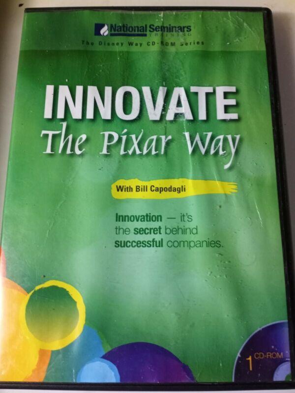 National Seminars Training The Pixar Way INNOVATE With BILL CAPODAGLI Cd Rom