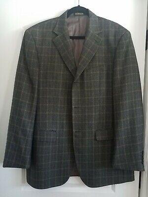 GIANNI VERSACE Wool Linen Medusa Jacket Blazer Multicolored men's 56