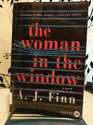 The Woman In The Window By A  J  Finn  2018  Paperback  Large Type
