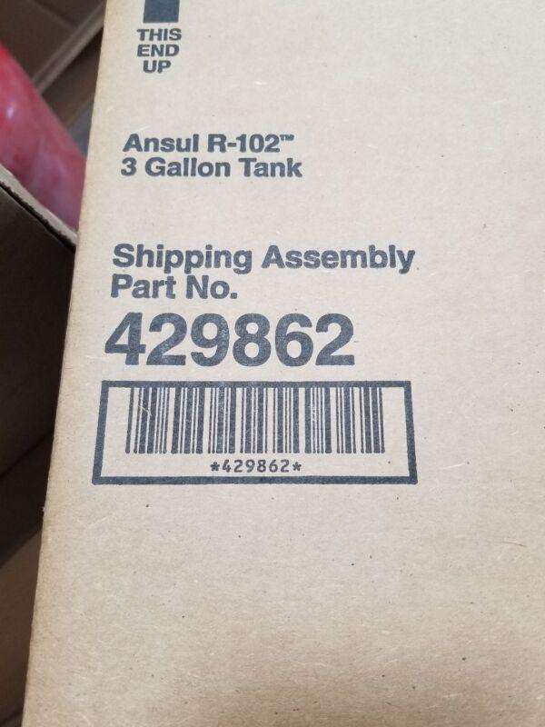 Ansul part # 429862 3 gallon stainless steel tank
