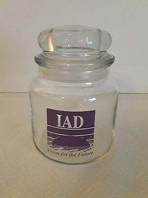 Candy Jar With Purple Iad Logo From American Express Financial Advisors