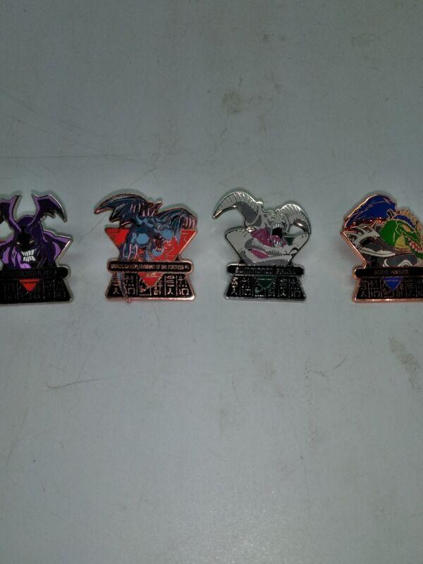 Yu - Gi - Oh! Pin Lot 4 Summoned Skull- Rude Kaiser- Winged Dragon- Swordstalker