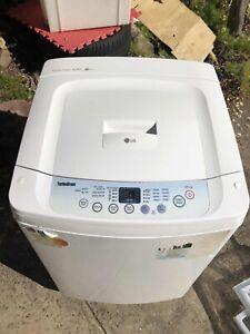 LG 6.5KG fuzzy logic washing machine in good working order
