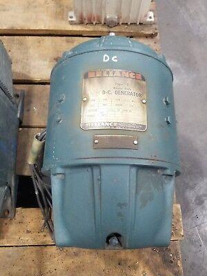 Reliance 20d30 Dc Generator Type T Ct204 3500 Rpm Shunt 50v 20a 3768sr