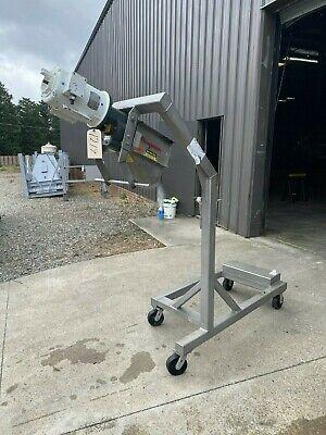 2 Flexicon Corporation Portable Screw Conveyor.