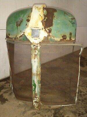 Oliver 88 Tractor Nose Cone. With Radiator Cover An Screen