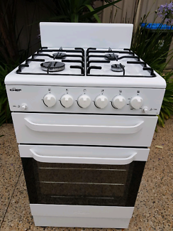 CURRENT MODEL CHEF 54CM NATURAL GAS STOVE - IMMACULATE