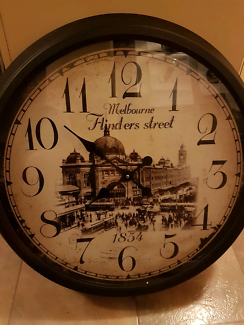 Large Wall Clock Antique look $70