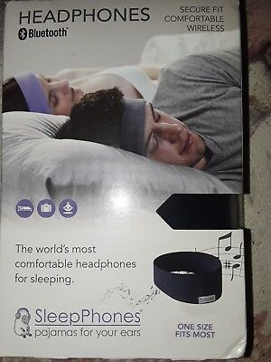 NEW Sleepphones Wireless Bluetooth Headphone