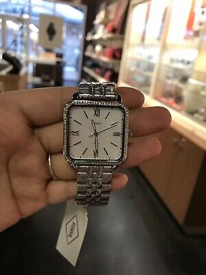 Fossil ES4268 Micah Mother of Pearl Dial Stainless Steel Women's Watch