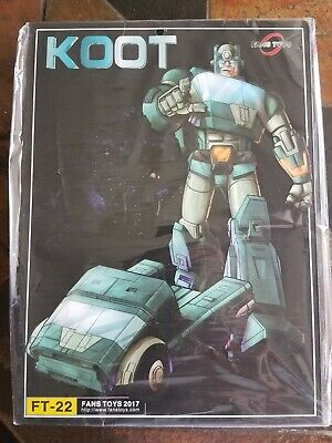 Fans Toys Koot FT-22 Fanstoys Transformers 3rd Party Masterpiece Kup MISB NEW