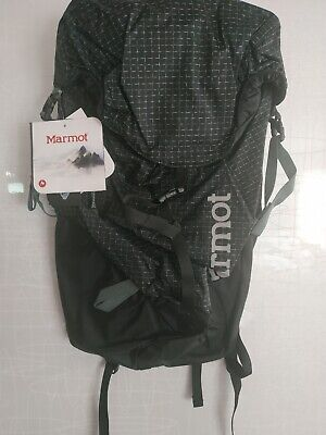 Marmot Eiger Summit Backpack Day Hiking Pack Black