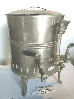 Rare Antique Diner  Restaurant Coffee Maker 1920s 30s Champion Electric