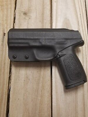 Concealment Holster - S&W SD9VE/SD40VE Concealment Black Kydex IWB holster right handed