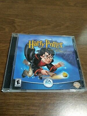 HARRY POTTER AND THE SORCERER'S STONE PC GAME CD-ROM 2001 PRE OWNED (Harry Potter And The Sorcerers Stone Rom)