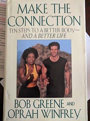 Signed Oprah Winfrey   Bob Greene  Make The Connection