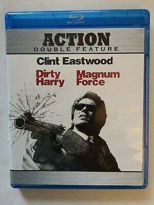 Dirty Harry/Magnum Force (Blu-ray Disc, 2010 2 Disc Set) Clint Eastwood