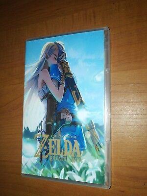Legend of Zelda: Breath of the Wild Custom Cover/Case Nintendo Switch NO GAME