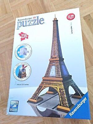 Karton Eiffelturm (Ravensburger 3D Puzzle Eiffelturm NEU ungeöffnet@Karton etwas verletzt🌸Geschenk)