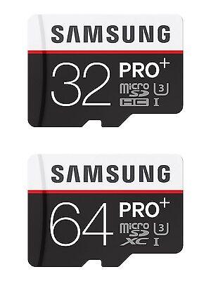 Genuine Samsung Micro SDHC SDXC PRO Plus Class 10 UHS-1 Memory Card 32GB 64GB](samsung pro plus 32gb microsdhc)