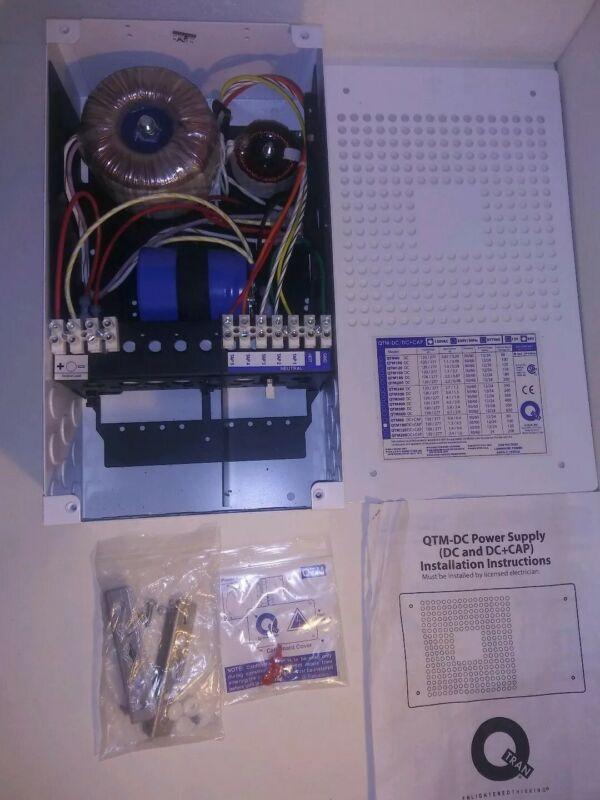 Q-Tran QTM-DC Power Supply (DC and DC+CAP)