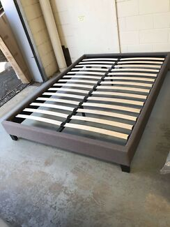 Brand new fabric bed base frame Double$140,Queen$170
