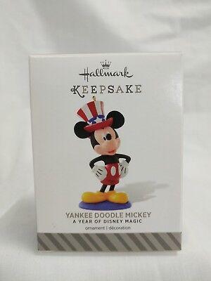Hallmark Keepsake Ornament 2014/15 Yankee Doodle Mickey A Year of Disney Magic