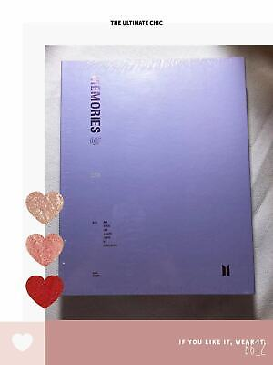 [Sealed】BTS Official Memories of 2018 Radom photocard [DVD] 4 DISC