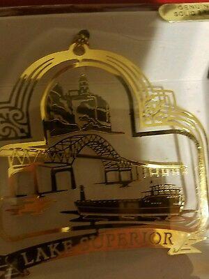 Lake Superior Brass Christmas Ornament - Lake Superior Brass