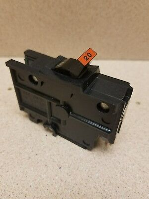 Fpe 20 Amp 1-pole Stab-lok Type Na Thick  Federal Pacific Breakers Na120