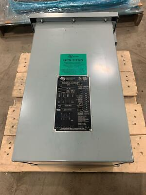 New Hps Titan 575v Hv Ht Single Phase Dry Transformer Lv 120v 480v 10kva 1-ph