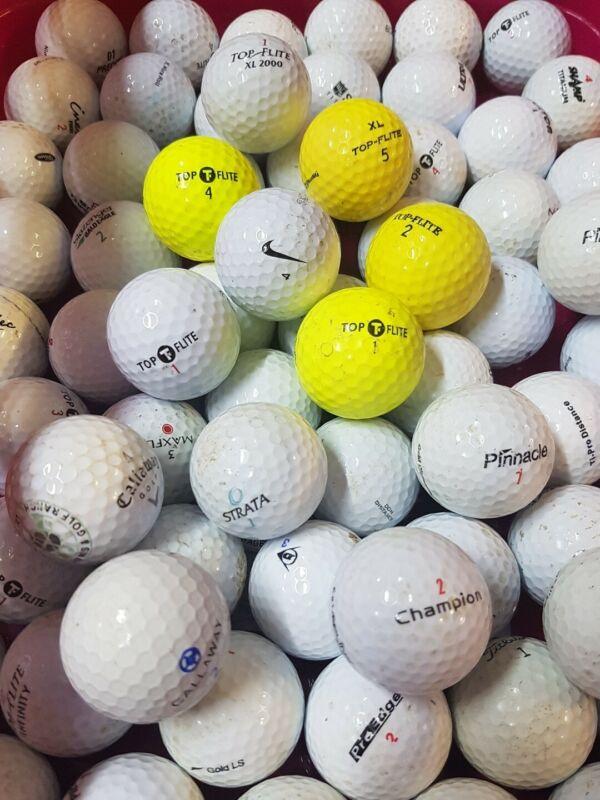 Golfbälle  100  Einsteiger Mix Bälle