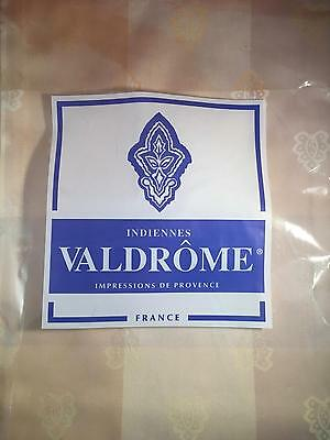 INDIENNES VALDROME TABLECLOTH SQUARE 71x71 BEIGE FRENCH PROVENCAL Tabulation COVER