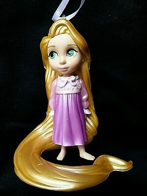 Disney Young Rapunzel Animator Christmas Ornament NEW Tangled
