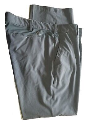 Adidas Golf Performance Outdoor STRETCH GRAY Pants Size 40 x 32