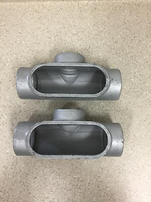 Crouse-hinds T67 Form 7 Condulet 2 New Box Of 2