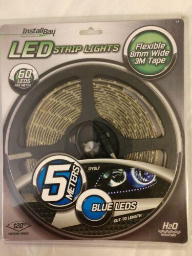 Install Bay LED Strip Light 5m (Blue) 16.4 ft Brand New