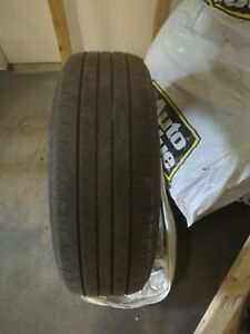 4 summer tires with 4rims 225 65/R17(Toyota RAV4)