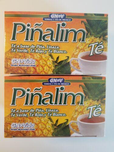 2 X Pinalim Tea de Pina GN+Vida, Pinalim Tea, Piñalim Te .